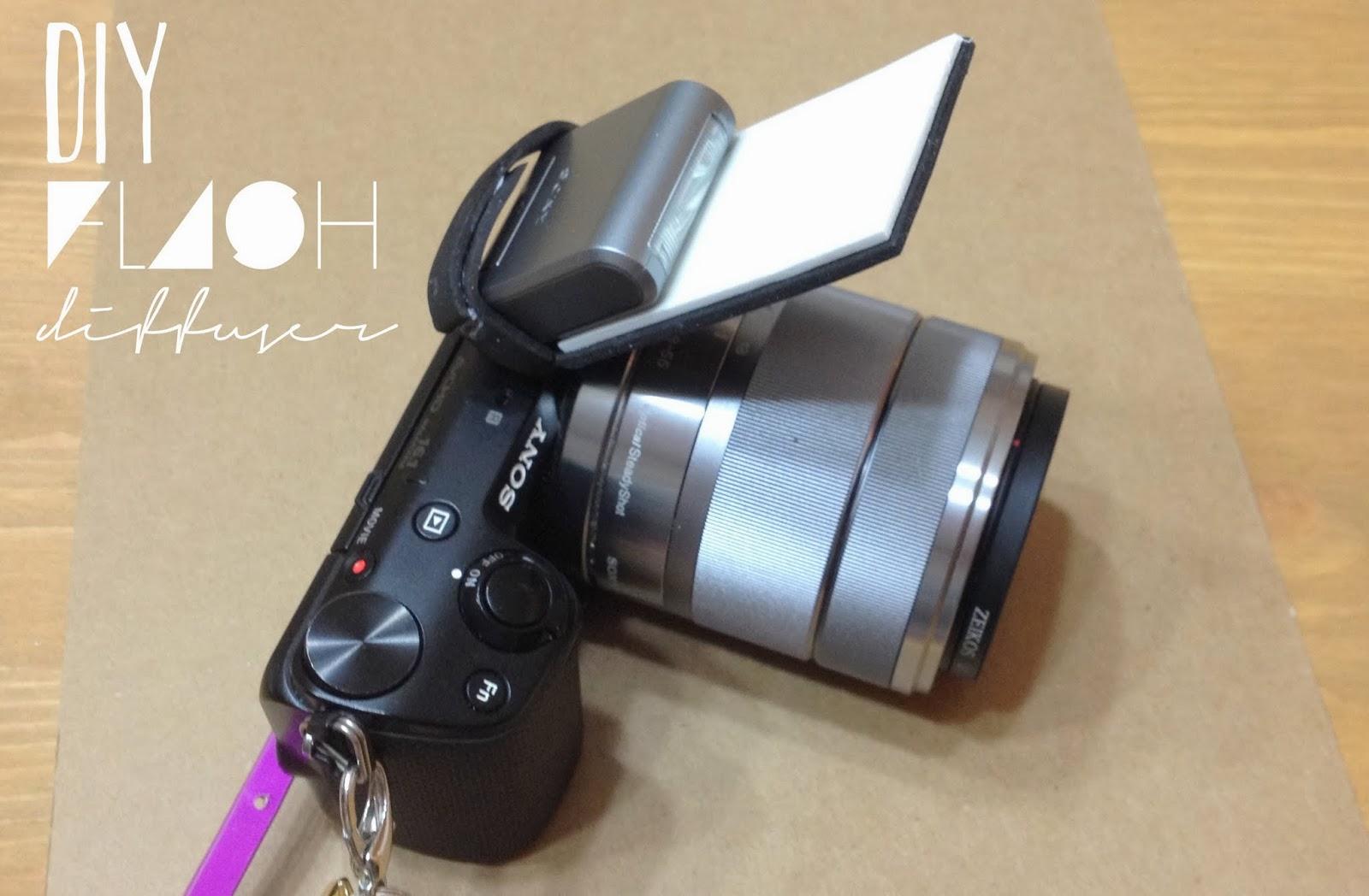 DIY Flash Diffuser (Sony NEX 5)