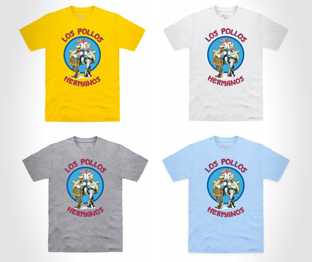 Official Breaking Bad - Los Pollos Hermanos T Shirt