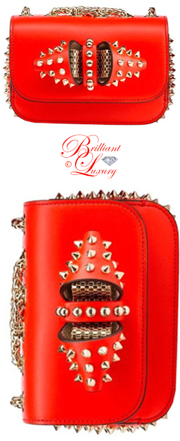 Brilliant Luxury ♦ Christian Louboutin Sweety Charity chain bag