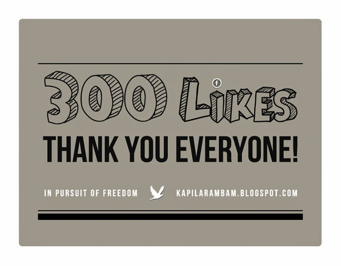 300 likes on its Facebook page!