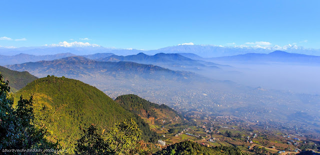 View from Chandragiri Hills