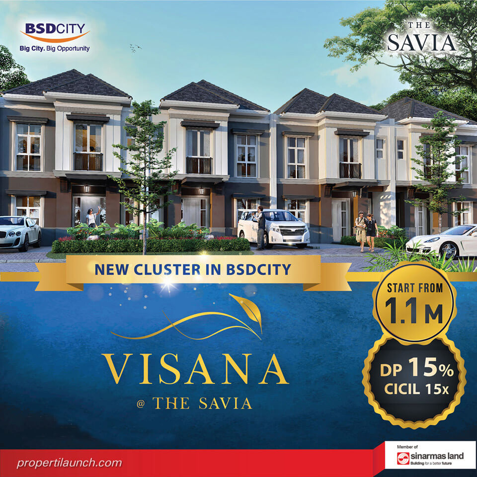 Cluster Visana The Savia BSD City