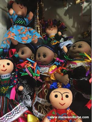Muñecas Artesanales en Pátzcuaro