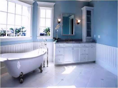 Solution for Bathroom Ideas Dark Blue Confident