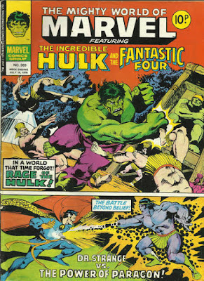 Mighty World of Marvel #303, the Hulk and Dr Strange