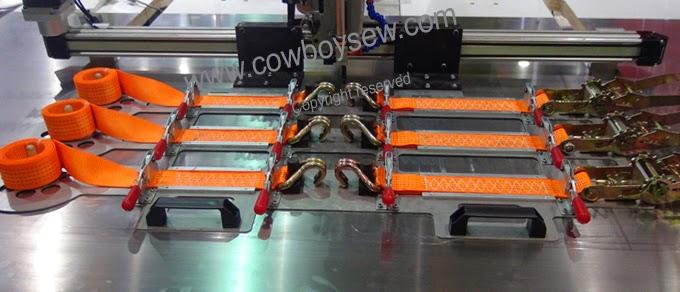 Industrieller Nähmaschinenfuß für schweres Nähgut einzelne Nadel