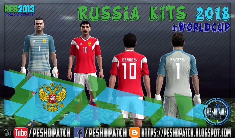 5abd0bf3f PES 2013 Russia FIFA WC 2018 Kits