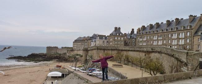 Camino de Ronda de Saint Malo.