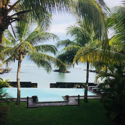 Mauritius Trou aux biche Appartement Bel Azur infinity-pool - webook.ch
