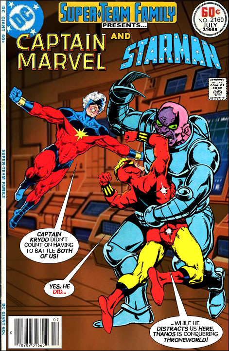 Captain Marvel And Starman