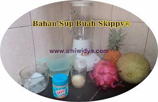 bahan membuat sup buah skippy