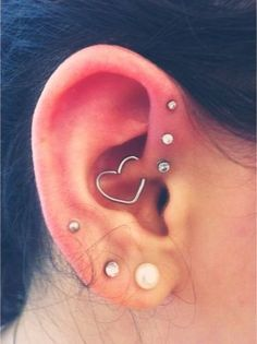 Cute Ear Piercings For Girls