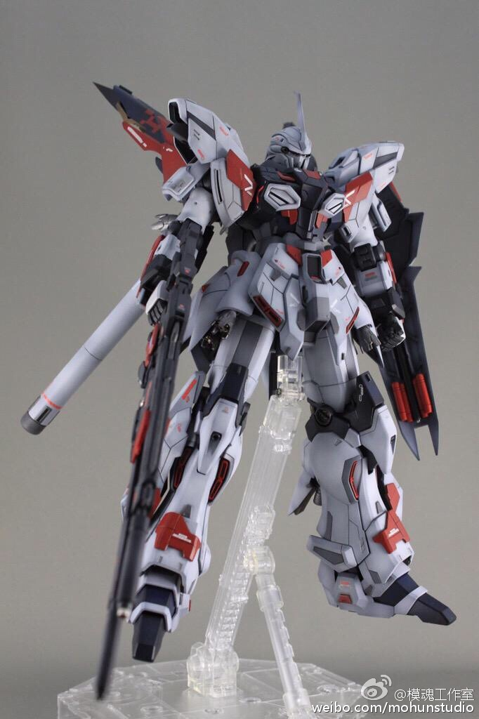 GUNDAM GUY: MG 1/100 Sinanju Stein Ver. Ka - Customized Build