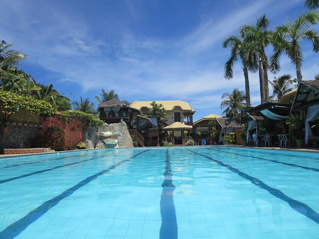 Olympic size swimming pool kalibo