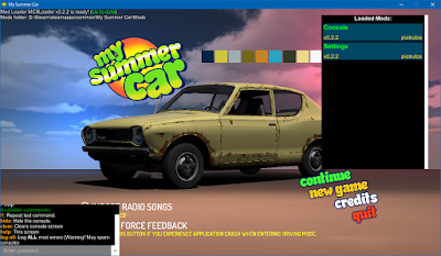 Download , mod , Pluguin , My summer car - MSCLoader 0.2