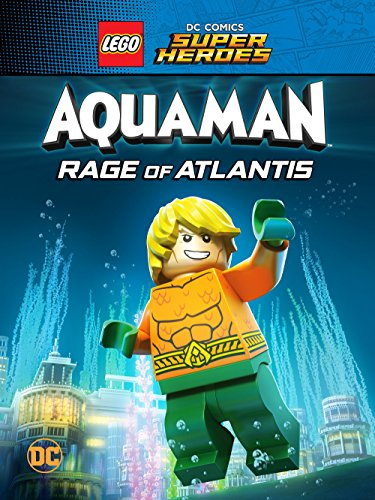 Super Heroes Aquaman Rage of Atlantis (Web-DL 720p Ingles Subtitulada) (2018)