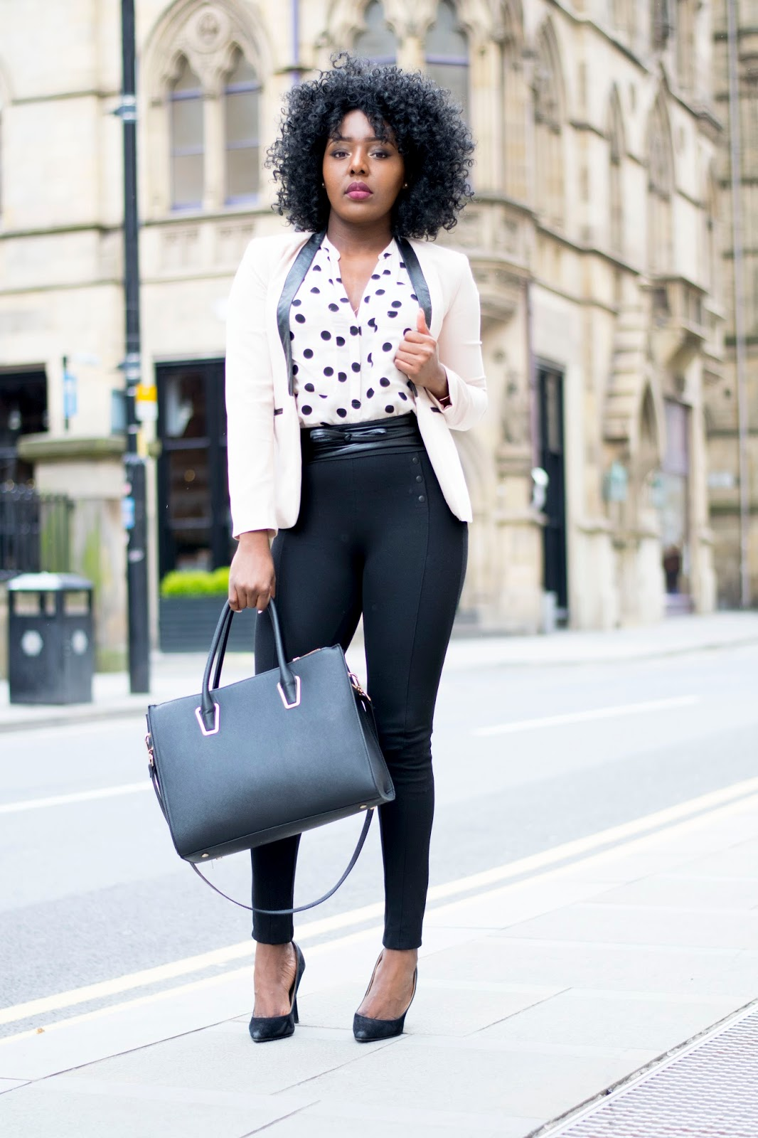 Corporate chic look