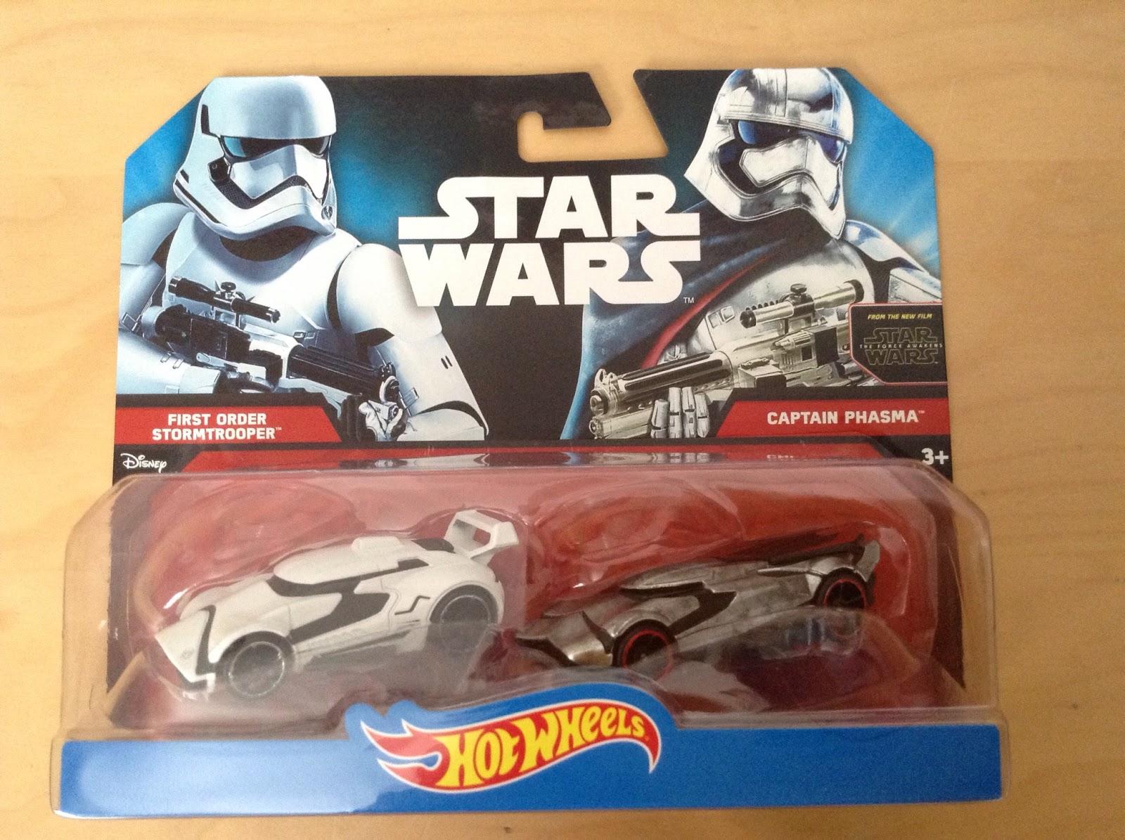 Car Wars: Julian's Hot Wheels Blog: Star Wars Character Cars 2-Pack