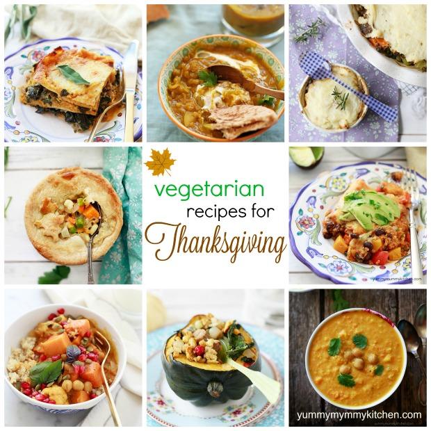 15 Vegetarian Thanksgiving Recipes