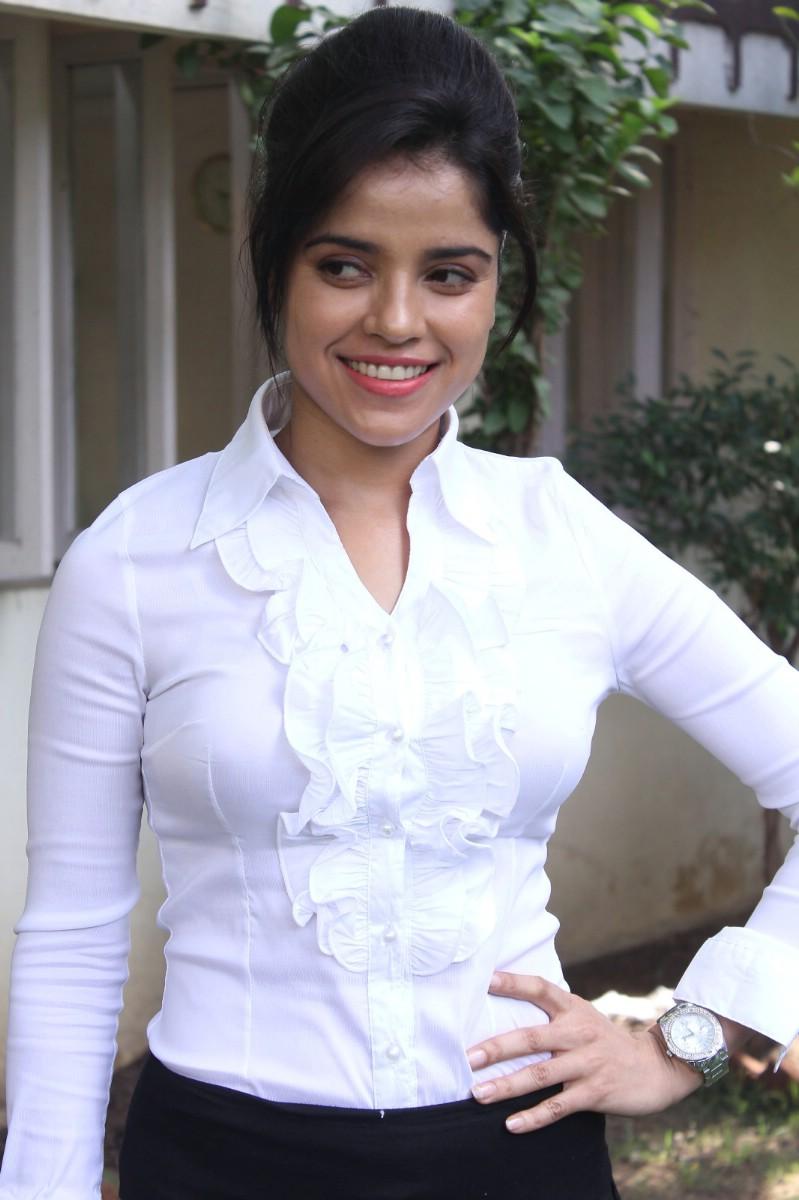 Piaa Bajpai In White Top Suit Stills
