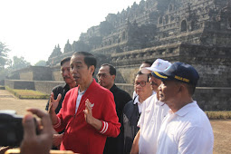 Luhut Binsar Pandjaitan Nilai Kelebihan Pengunjung di Candi Borobudur Pengaruhi Struktur