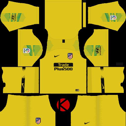 Atletico Madrid 2018 19 Kit - Dream League Soccer Kits - Kuchalana 0d811e3db