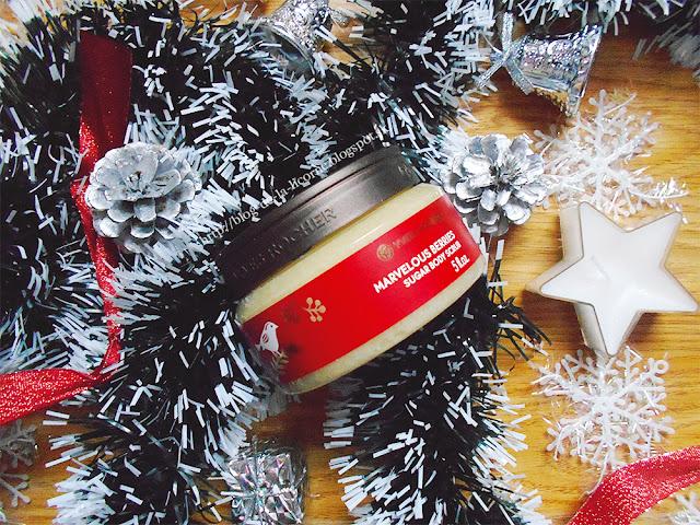Vianočná kolekcia Yver Rocher cukrový telový peeling