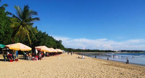 Pantai Paling Indah di Indonesia - Pantai Kuta, Bali