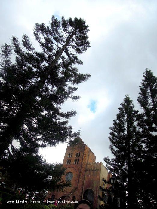 Caleruega Church near Tagaytay