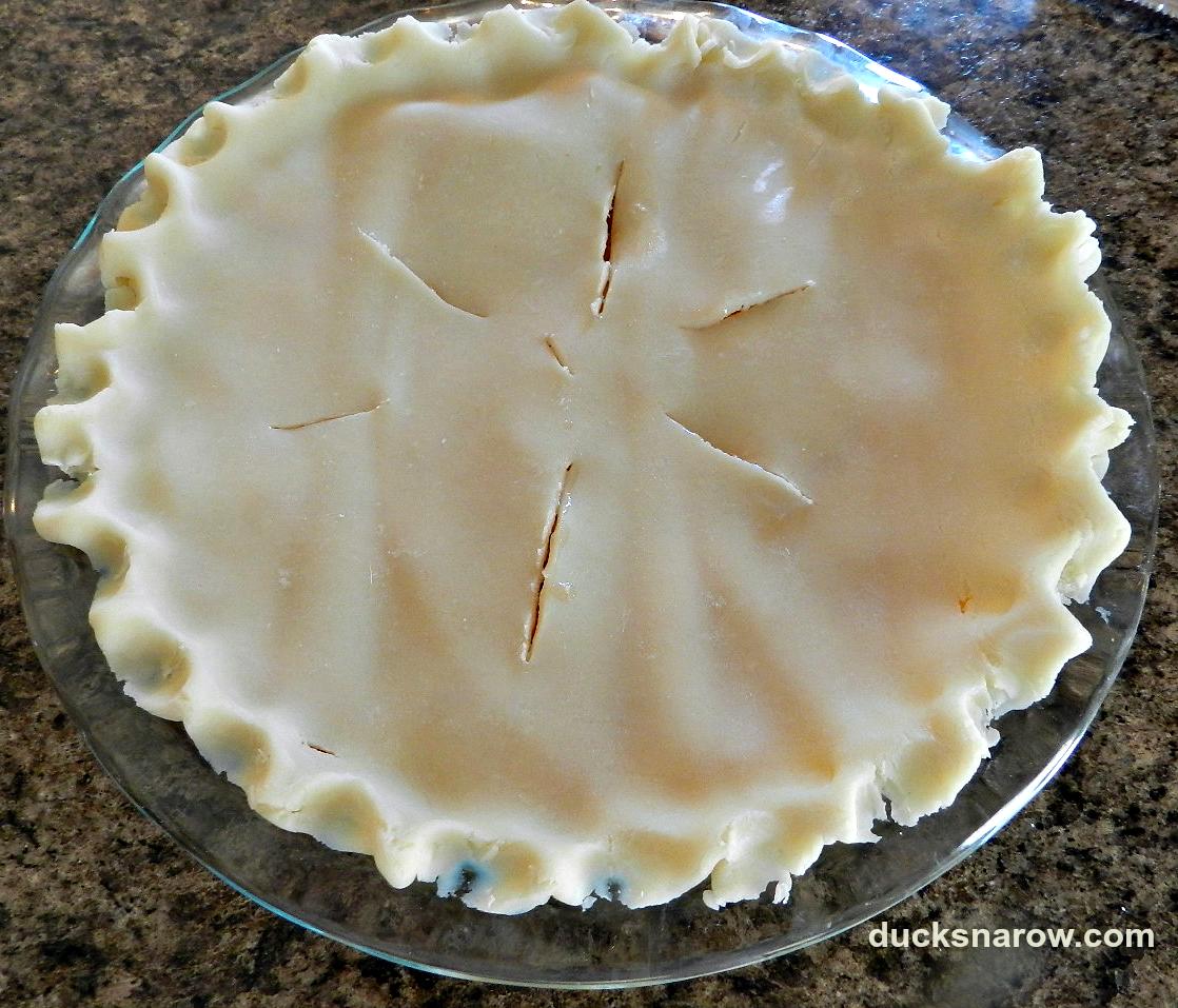 peach pie, how to make a pie, pie crust tips