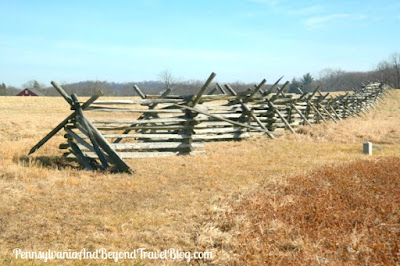 The Gettysburg Battlefield in Pennsylvania