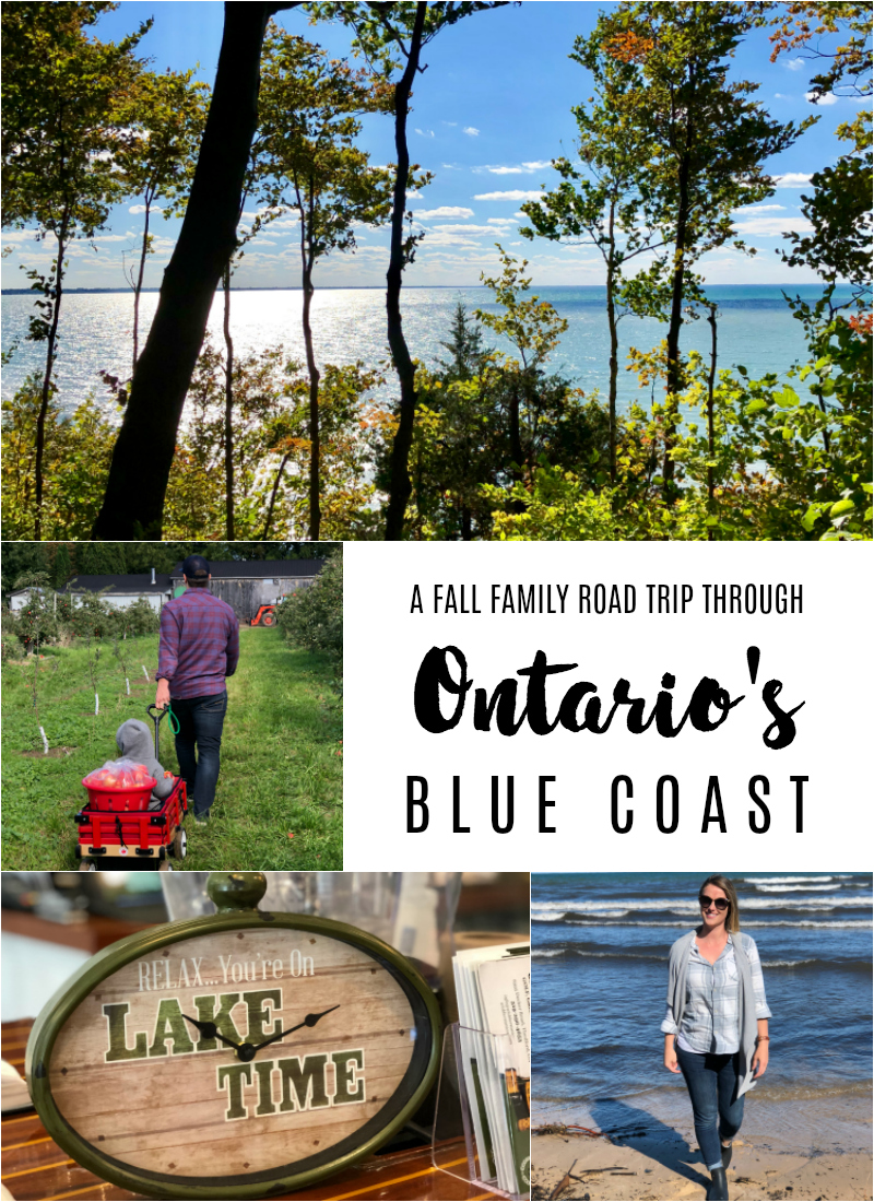 A Fall Family Road Trip Through Ontario's Blue Coast