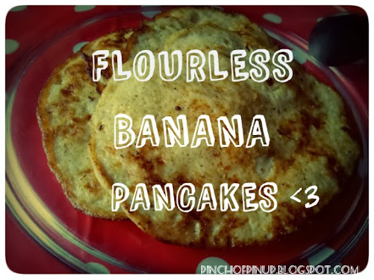 Pancake day loveliness - Flourless and fast banana pancakes!