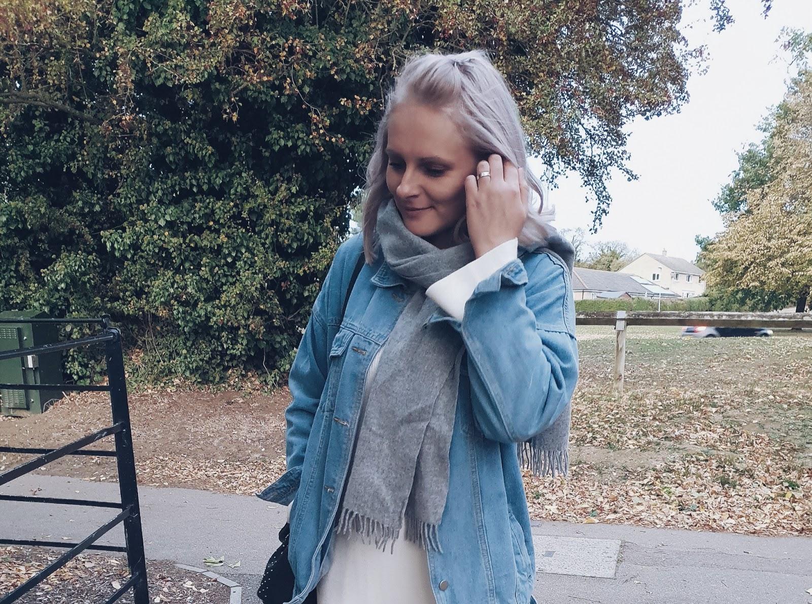 Knitted maxi dress czyli jesienny casual z dzianinową sukienką