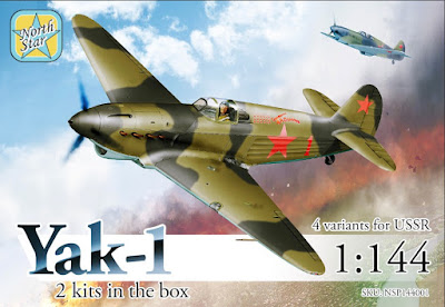 1/144 Yak-1 Test Sprues by North Star Military Figures,