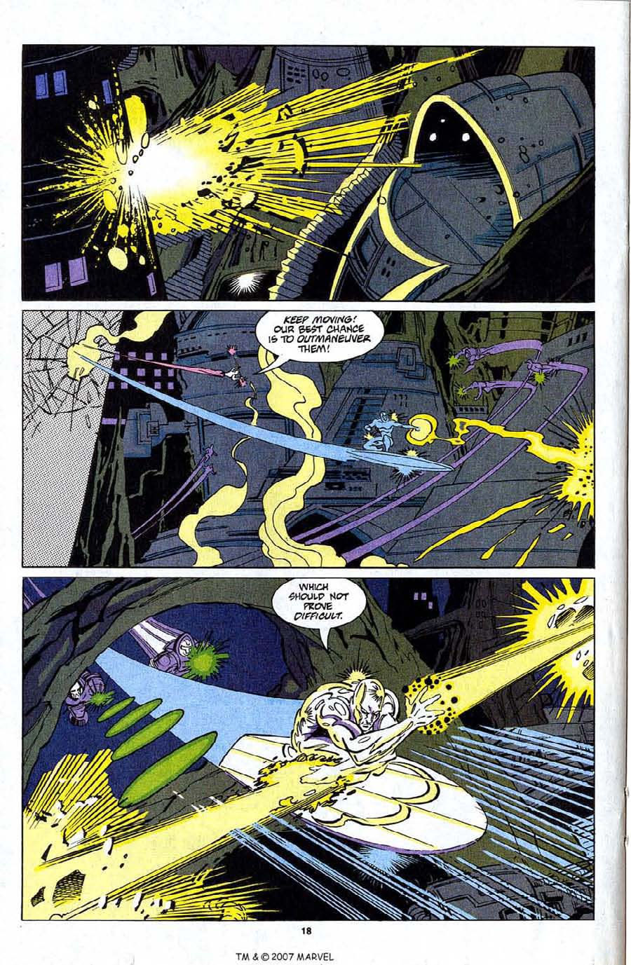 Read online Silver Surfer (1987) comic -  Issue #81 - 20