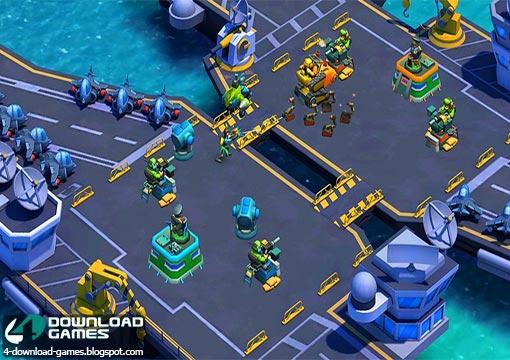 لعبة الحرب الاستراتيجية Blitz Brigade Rival Tactics