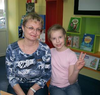 в Самарской областной библиотеке встреча с писательницей Викторией Ледерман