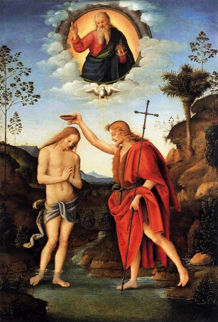 Bacchiacca: Baptism of Christ