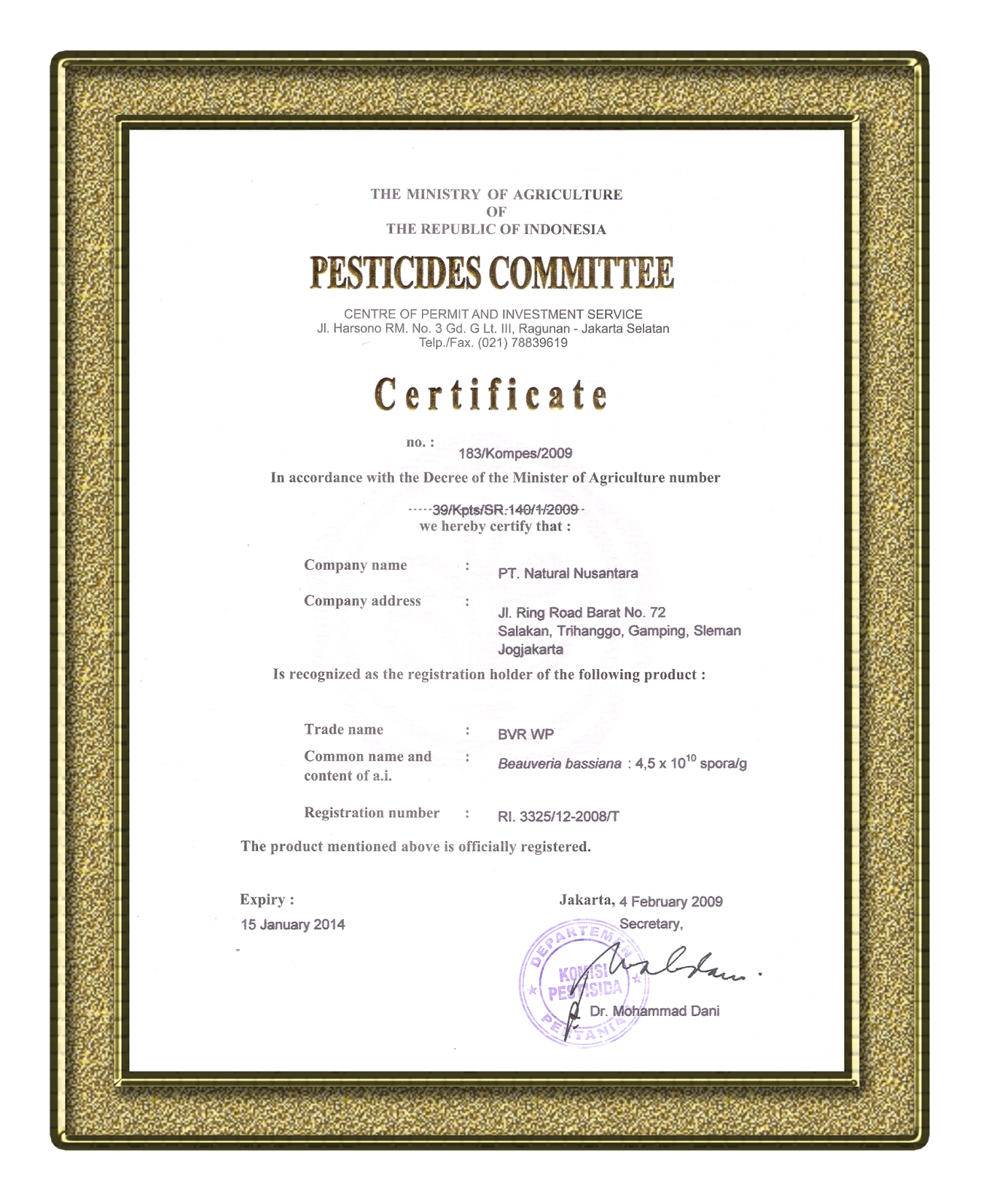 bvr walang sangit organiknusantara 085210356960