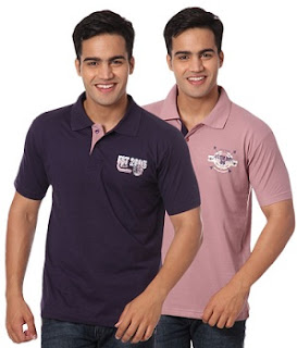 Combo (Pack of 2) Venetial Polo Tshirts just for Rs.400 @ Snapdeal