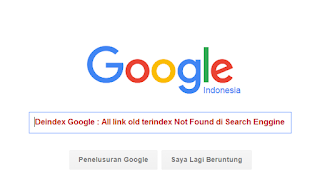 Deindex Google