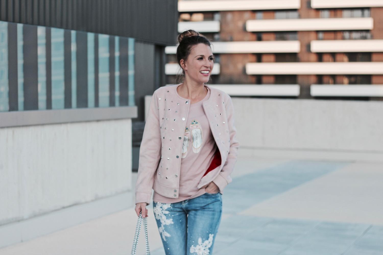 jeans con detalles