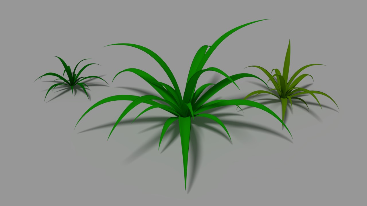 Free 3D Simple Grass .blend