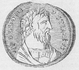 Moneda en honor a Apolonio de Tiana