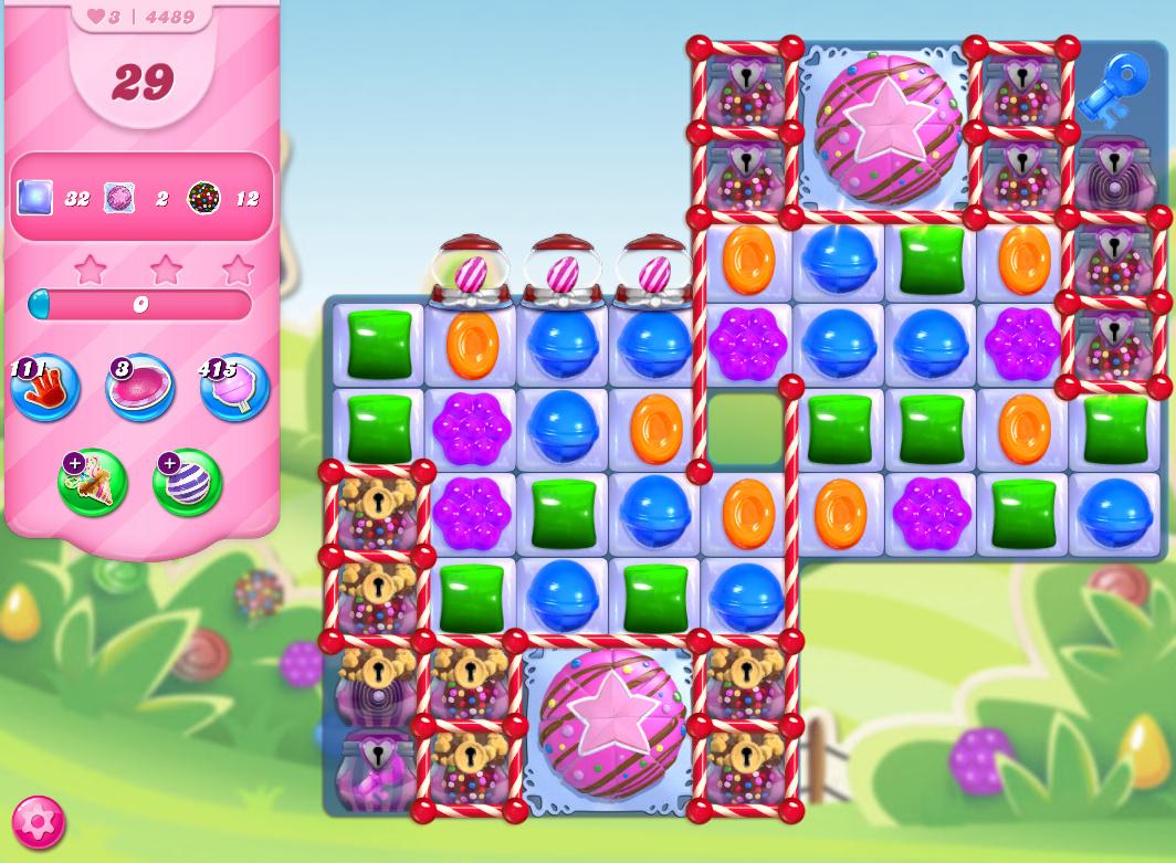 Candy Crush Saga level 4489