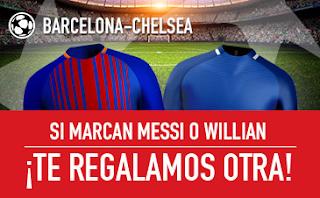 sportium promocion Barcelona vs Chelsea 14 marzo