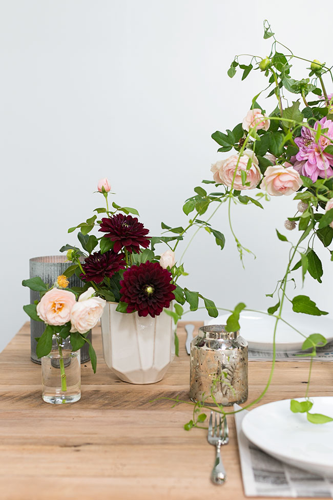 Foraged, modern Baroque florals by Moonflower for Accent Decor
