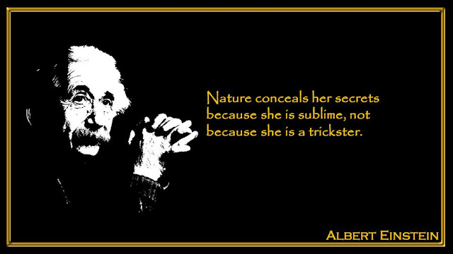 Nature conceals her secrets because she is sublime  Albert Einstein inspiring quotes