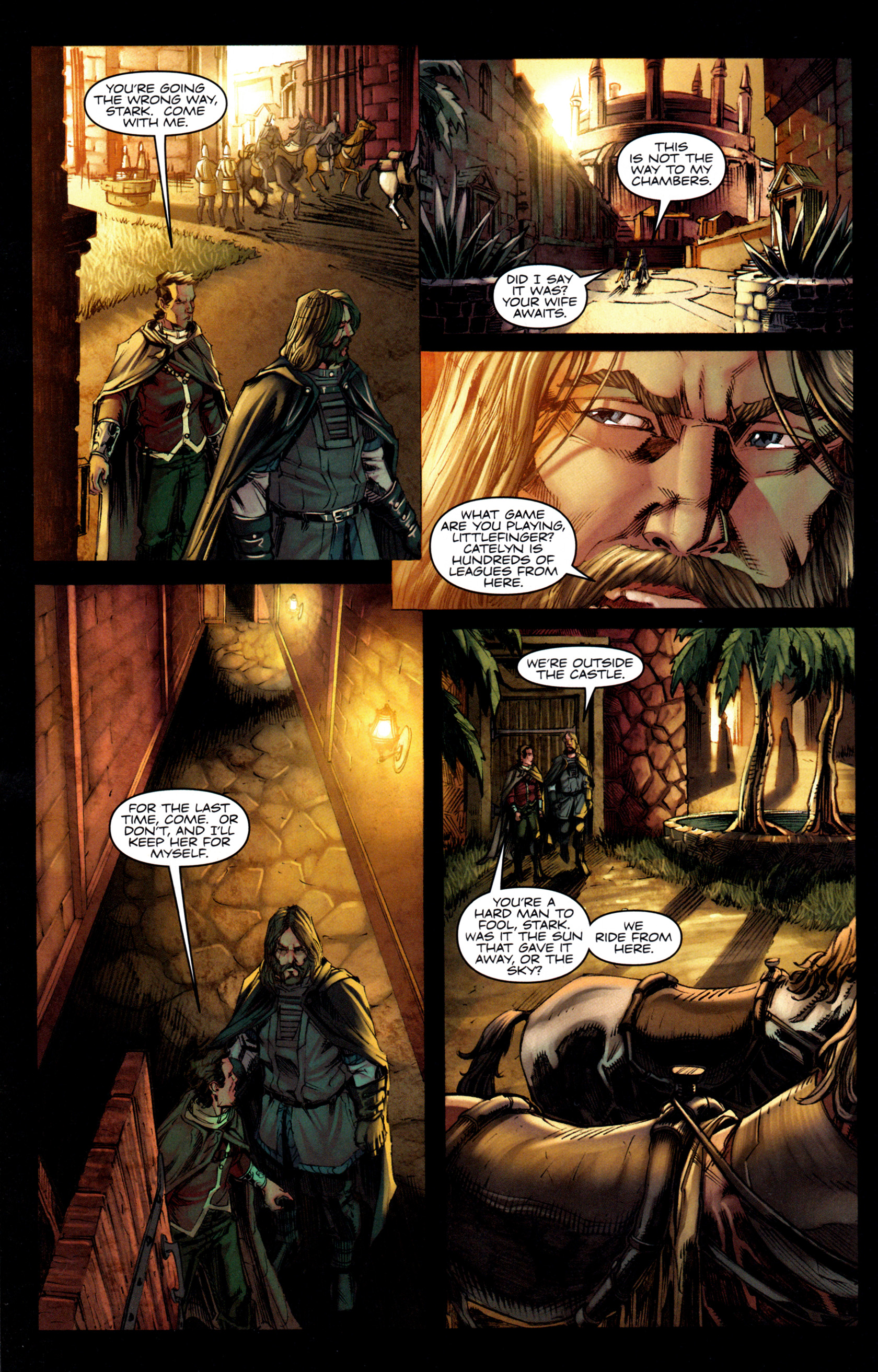 Read online A Game Of Thrones comic -  Issue #6 - 16